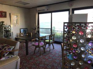 ホテル花飾璃のロビー